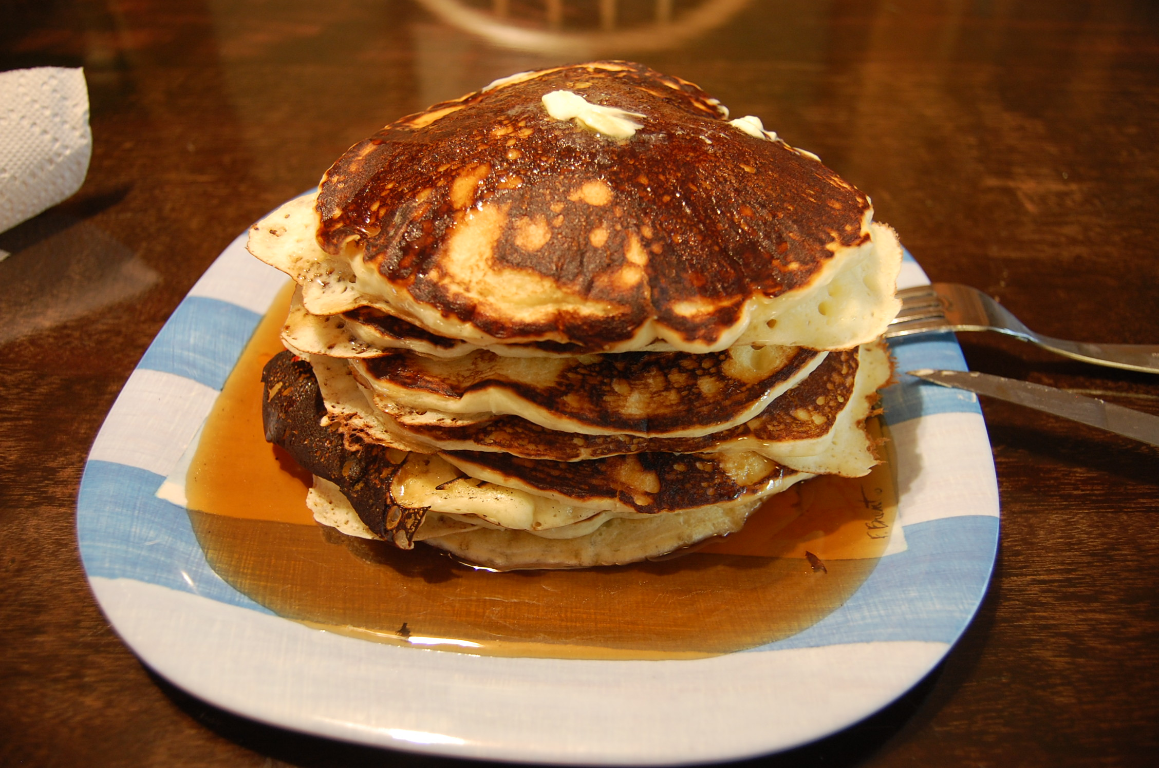 The Best Darn Buttermilk Pancakes you'll ever make or eat.